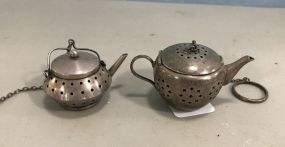 Small Sterling Tea Pots