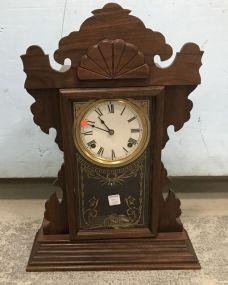 R.E. Beasley Oak Mantle Clock