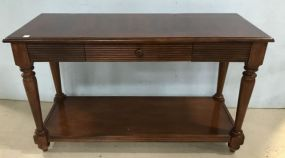 Modern TV Cherry Console Stand