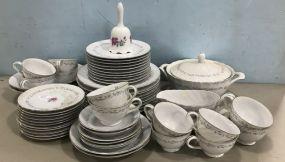 Royal Swirl Fine China Set