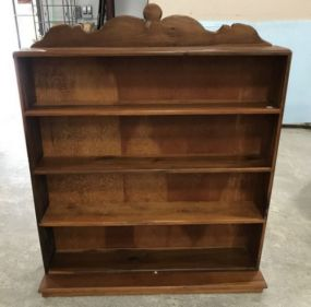 Wooden Five Shelf Book Case