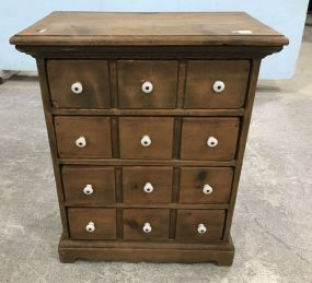 Primitive Style Pine Small Chest