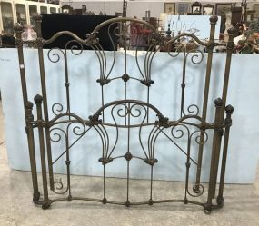 Vintage Iron Full Size Bed