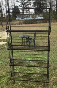 Wrought Iron Outdoor Rack