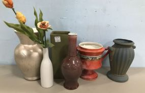 Group of Pottery Pieces