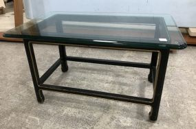 French Style Glass Coffee Table