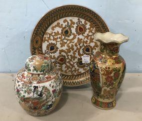 Hand Painted Porcelain Decor
