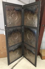 New Antiqued Style Tin Screen