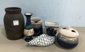 Assorted Group Pottery Pieces