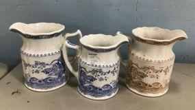 Furnivals Quail Porcelain Mugs