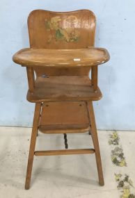Vintage Child's High Chair