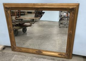 Large Beveled Wall Mirror