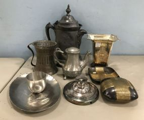 Group of Silver Plate Pieces