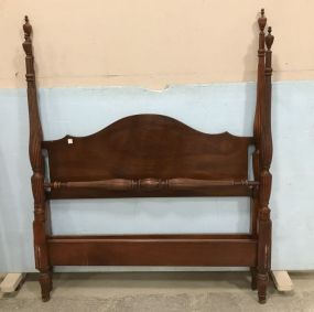 Chippendale Style Four Poster Full Size Bed