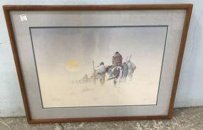 Native American Artist Proof Print