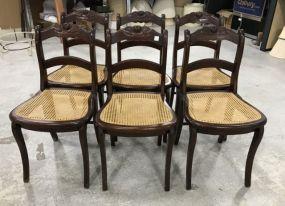 Six Vintage Mahogany Duncan Phyfe Dinning Chairs