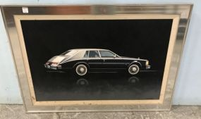 Cadillac Painting by W. Sistrunk