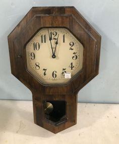 Verichron Battery Powered Wall Clock