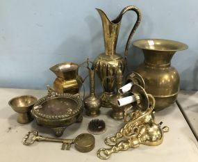 Collection of Brass and Copper Pieces