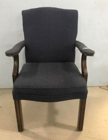 Chinese Chippendale Office Arm Chair