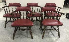 Shelby Williams Vintage Barrel Chairs