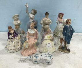 Collectible Porcelain and Ceramic Figurines
