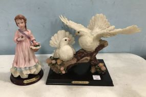 Monlefiori Collection Dove Figurine