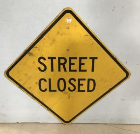 Street Closed Sign