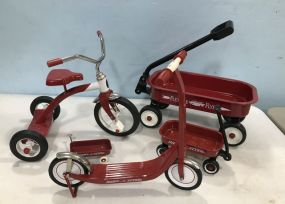 Radio Flyer Dolls Wagons and Scooters