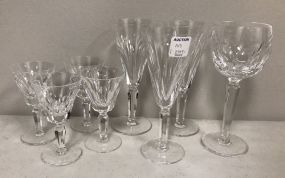 Group of Waterford Glasses