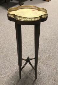 French Style Stand with Brass Tray