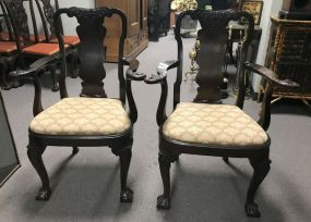 Antique Reproduction Ball-n-Claw Arm Chairs