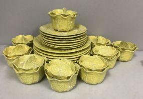 Leaf Pottery China Set