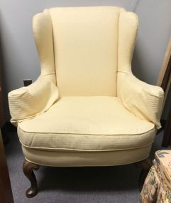 Wing Back Upholstered Arm Chair