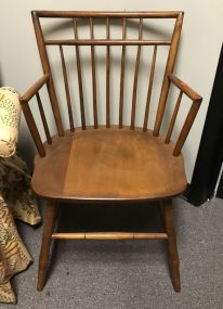 Primitive Style Side Arm Chair