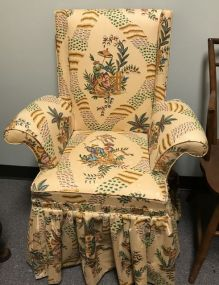 Small Upholstered Arm Chair