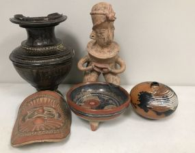 Group of Tribal and Mexico Pottery Pieces