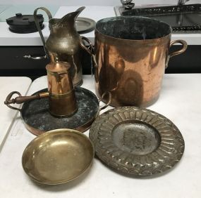 Vintage Copper and Brass Pieces