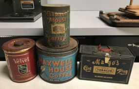 Vintage Collectibles Tins