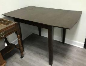 Modern Primitive Style Drop Leaf Table