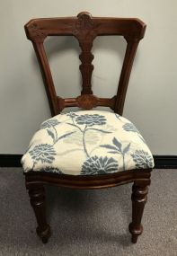 Modern Victorian Style Side Chair