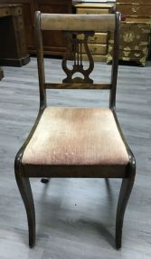 Duncan Phyfe Harp Back Side Chair