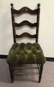 Vintage Ladder Back Side Chair
