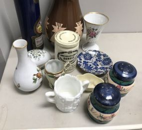 Group of Porcelain and Pottery