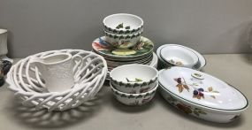 Pottery Bowls, Dishes, and Plates