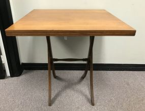 Vintage Square Top Occasional Table