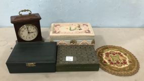 Trinket Boxes, Dolly, Howard Miller Clock