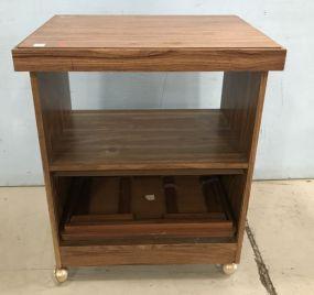 Pressed Wood Microware Cart