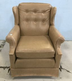 Vintage Naugahyde Easy Chair