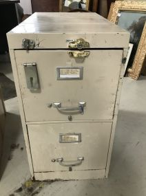 Cole Two Drawer File Cabinet